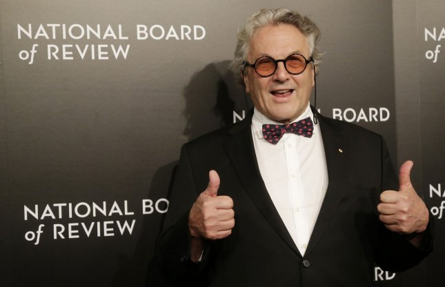 George Miller arrives on the red carpet at The National Board of Review gala honoring the 2015 award winners in New York City on January 5. Photo by John Angelillo/UPI