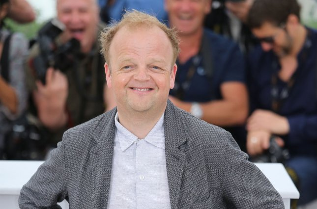 Toby Jones arrives at a photo call for the film Tale of Tales during the 68th annual Cannes International Film Festival in France on May 14, 2015. The actor has joined the Season 4 cast of Sherlock. Photo by David Silpa/UPI