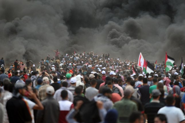 israel attacks four hamas targets