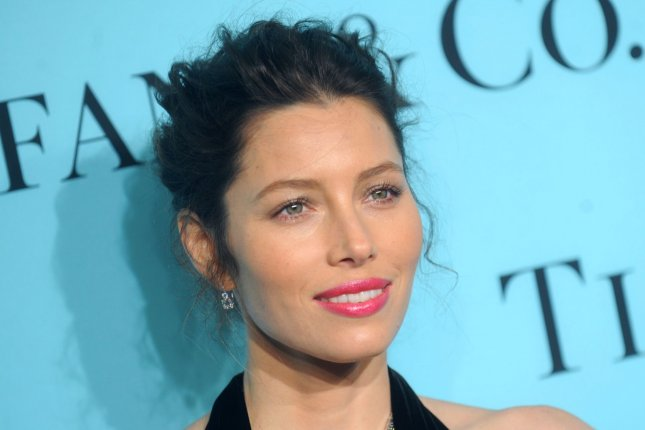 Jessica Biel reunited with her '7th Heaven' co-stars over family dinner September 16, 2014. (UPI/Dennis Van Tine)