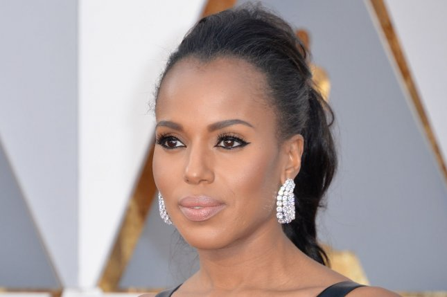 Kerry Washington arrives on the red carpet for the 88th Academy Awards on February 28, 2016. File Photo by Kevin Dietsch/UPI
