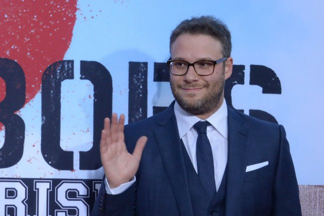 Writer/producer/actor Seth Rogen attends the premiere of the motion picture comedy Neighbors 2: Sorority Rising in Los Angeles on May 16, 2016. Photo by Jim Ruymen/UPI