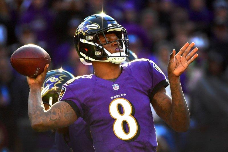 Quarterback Ravens