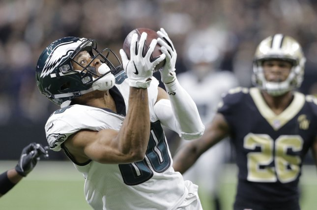 Philadelphia Eagles wide receiver Jordan Matthews was a second-round pick by the team in 2014. File Photo by AJ Sisco/UPI