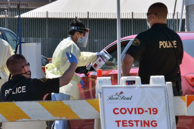 A Harvard research group said Thursday its new models show that the United States should be doing 900,000 tests for COVID-19 on a daily basis. File Photo by Jim Ruymen/UPI
