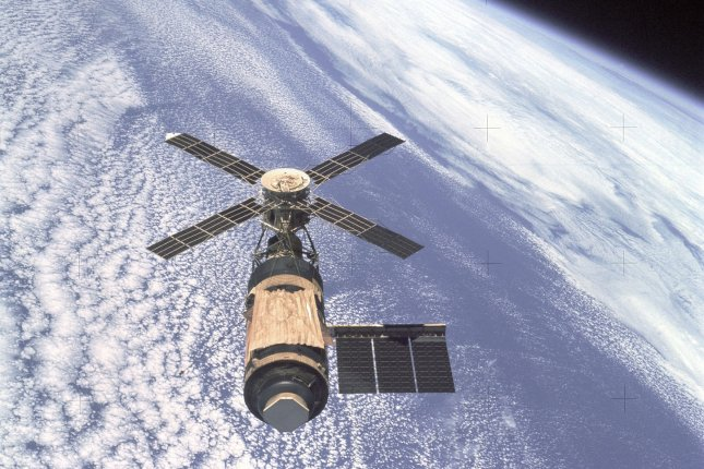 On July 11, 1979, Skylab, the United States' first space station, fell to Earth after six years in orbit, scattering tons of debris across the Australian desert. File Photo courtesy of NASA