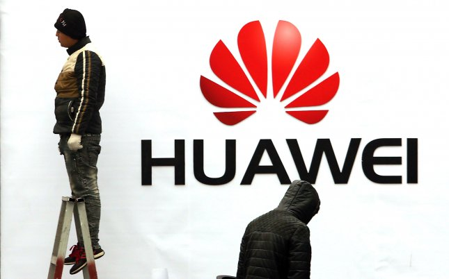 U.S. Secretary of State Mike Pompeo has been lobbying countries to not include China telecommunications giant Huawei from participating in the development of their 5G mobile networks. Photo by Stephen Shaver/UPI
