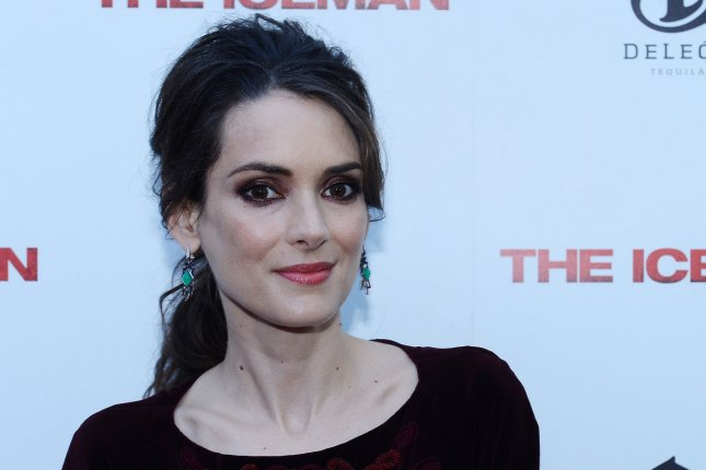 Winona Ryder at the Los Angeles premiere of 'Iceman' on April 22, 2013. The actress confirmed Tim Burton's plans for 'Beetlejuice 2' on Monday. File photo by Jim Ruymen/UPI