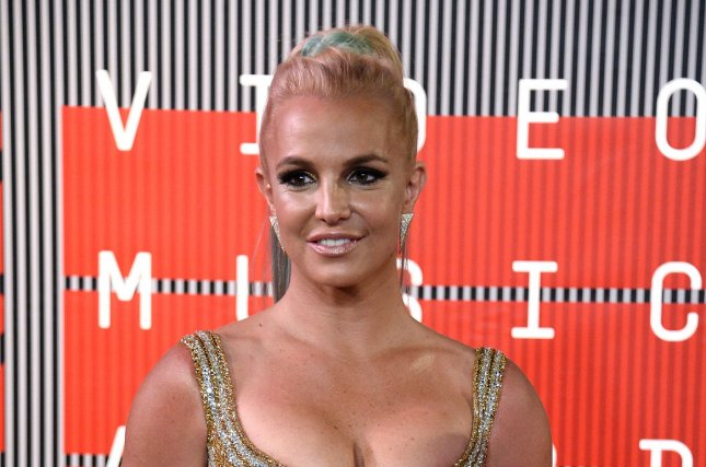 Britney Spears at the MTV Video Music Awards on August 30, 2015. The singer released a Breathe on Me video Tuesday. File Photo by Jim Ruymen/UPI