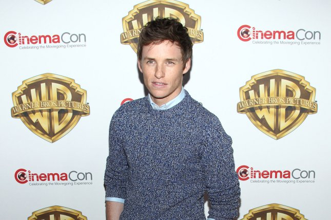 Eddie Redmayne paid tribute to Stephen Hawking alongside the cast of the Big Bang Theory File Photo by James Atoa/UPI