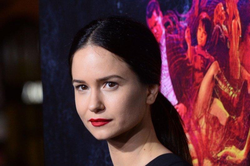 Katherine Waterston will star in 'Jobs.' UPI/Jim Ruymen