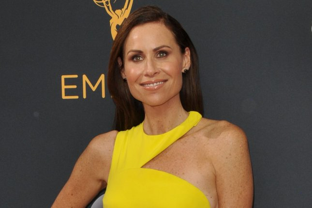 Minnie Driver at the Primetime Emmy Awards on September 18. The actress played Skylar in Good Will Hunting. File Photo by Christine Chew/UPI