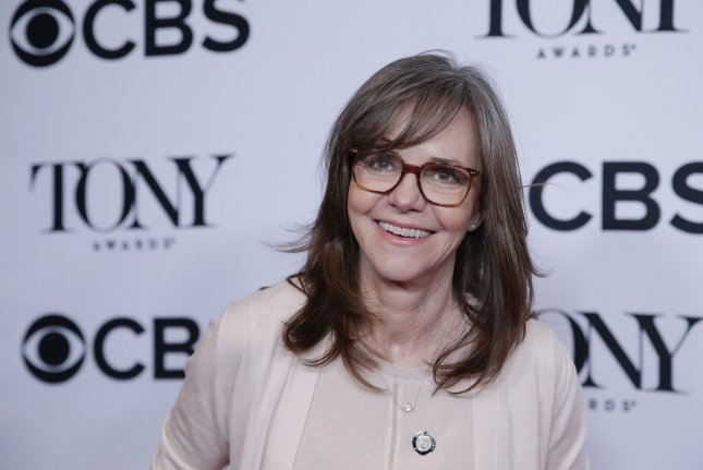 The Glass Menagerie star Sally Field arrives on the red carpet at the 2017 Tony Awards Meet the Nominees press event at the Sofitel Hotel on May 3 in New York City. Photo by John Angelillo/UPI