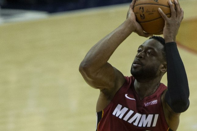 Dwyane Wade and the Miami Heat face the New Orleans Pelicans on Friday. Photo by Alex Edelman/UPI