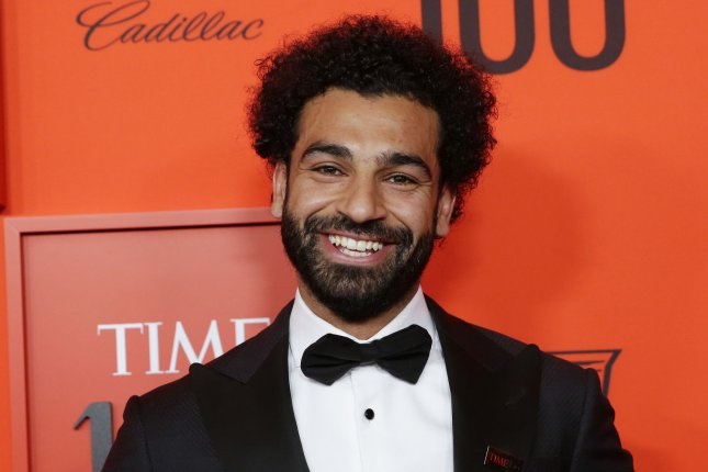 Mohamed Salah has a concussion and will not play in Liverpool's Champions League semifinals matchup against Barcelona on Tuesday at Anfield in Liverpool, England. File Photo by John Angelillo/UPI
