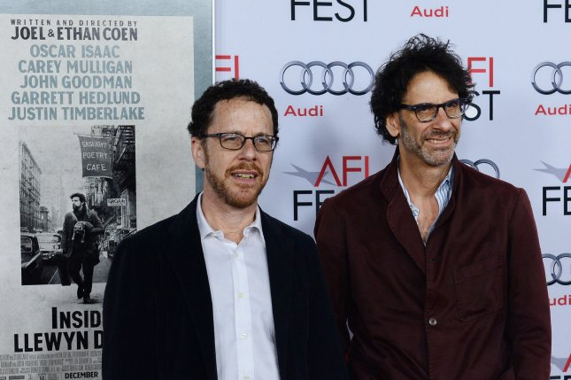 Ethan Coen (L) and Joel Coen (R) will chair the Cannes Film Festival in May 2015. UPI/Jim Ruymen