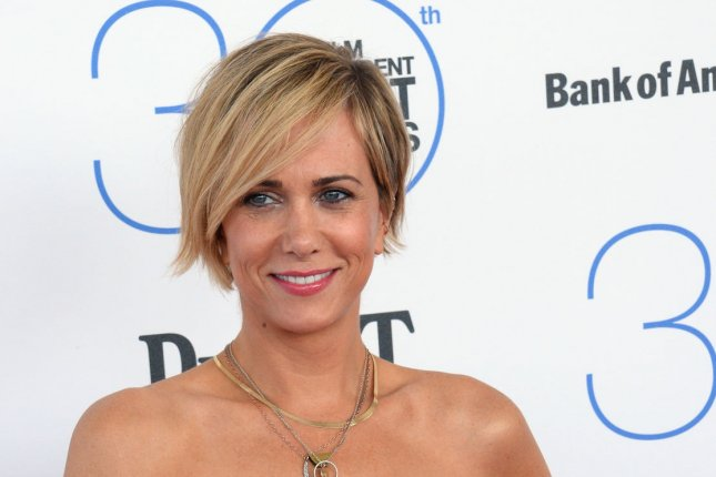 Actress and comedian Kristen Wiig will co-star will Will Ferrell in the upcoming Lifetime original film A Deadly Adoption. Photo by Jim Ruymen/UPI