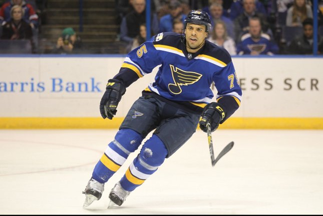 cheap for discount a94a4 4a60b St. Louis Blues continue to roll at home, defeat New Jersey ...