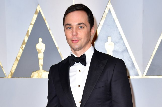 Jim Parsons attends the Academy Awards on February 26. The actor plays Sheldon Cooper on The Big Bang Theory. File Photo by Kevin Dietsch/UPI