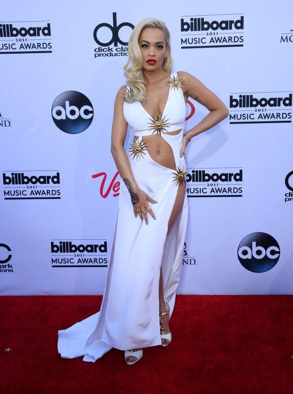 Rita Ora at the 2015 Billboard Music Awards on Sunday. Photo by Jim Ruymen/UPI