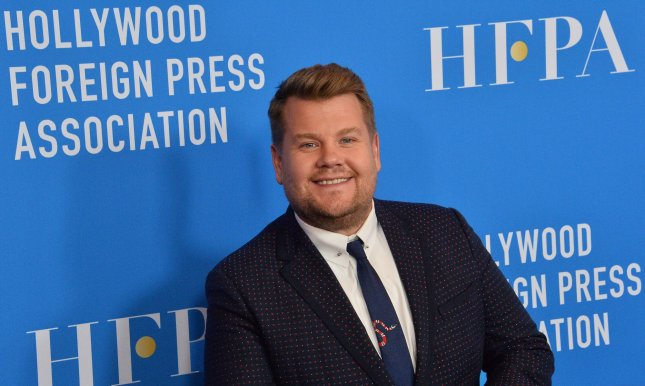 Talk show host James Corden will remain on The Late Late Show through 2022, CBS announced Monday. File Photo by Jim Ruymen/UPI