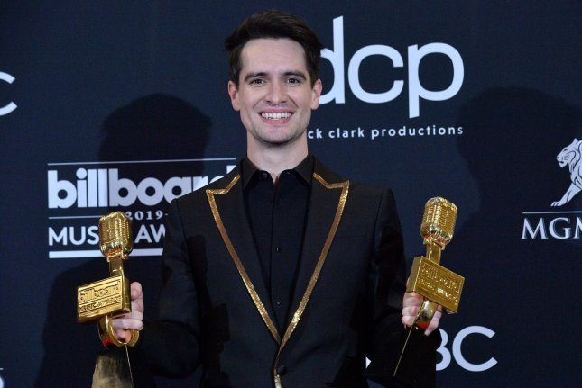 Brendon Urie will serve as an ambassador for the new Fender Play Foundation. File Photo by Jim Ruymen/UPI