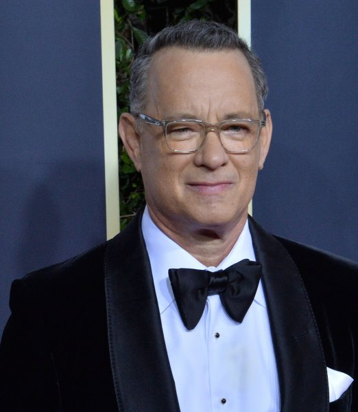 Tom Hanks hosted this weekend's edition of Saturday Night Live from his home in California. File Photo by Jim Ruymen/UPI