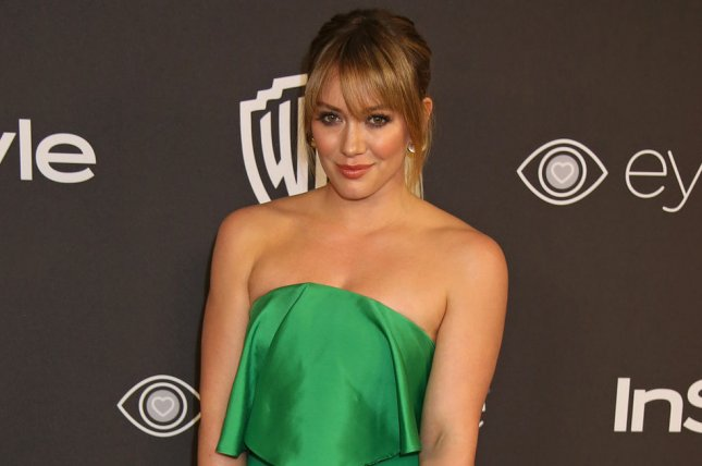 Hilary Duff said she's been consuming her placenta since welcoming daughter Banks Violet with Matthew Koma. File Photo by David Silpa/UPI