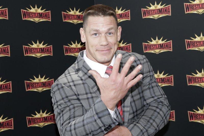 John Cena talked about returning to WWE on The Tonight Show: Starring Jimmy Fallon. File Photo by John Angelillo/UPI