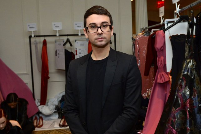 Project Runway mentor Christian Siriano poses backstage before his fashion show at New York Fashion Week in February 2017. Project Runway Season 19 will premiere on Oct. 14. File Photo by Andrea Hanks/UPI