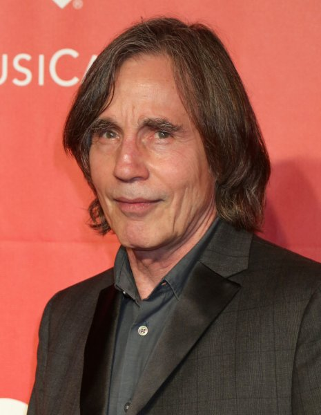 Jackson Browne attends the MusiCares Person of the Year gala honoring singer and songwriter Bob Dylan in Los Angeles on February 6, 2015. File Photo by David Silpa/UPI