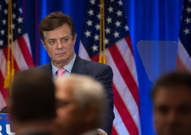 Paul Manafort, manager of Donald Trump's presidential campaign, denied recieving illegal cash payments from a Ukrainian presidential campaign on which he worked in 2010. Photo by Bryan R. Smith/UPI