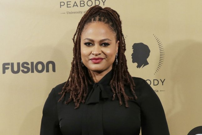 Ava DuVernay arrives in the press room with an award at the 76th Annual Peabody Awards Ceremony at Cipriani, Wall Street on May 20 in New York City. The director turns 45 on August 24. File Photo by John Angelillo/UPI