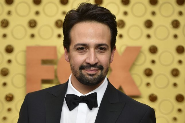 Lin Manuel Miranda performed You'll Be Back from Hamilton, along with Phylicia Rashad and Kristin Chenoweth on The Tonight Show. File Photo by Christine Chew/UPI