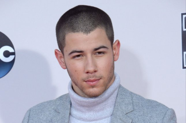Nick Jonas at the American Music Awards on November 22, 2015. File Photo by Jim Ruymen/UPI