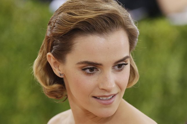 Emma Watson at the Costume Institute Benefit at the Metropolitan Museum of Art on May 2. The actress plays Belle in Disney's live-action Beauty and the Beast. File Photo by John Angelillo/UPI