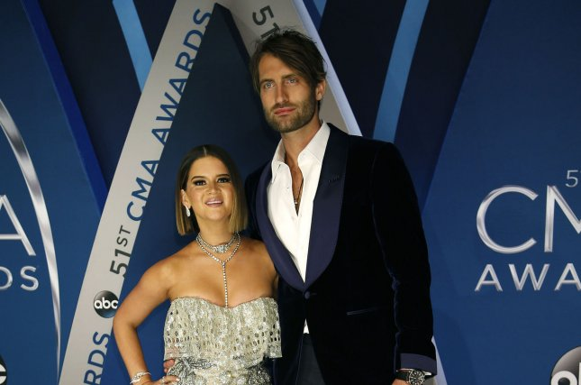 Maren Morris and Ryan Hurd got married in Nashville on Saturday night. File Photo by John Sommers II/UPI