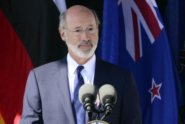 The Supreme Court blocked a request by a group of businesses seeking the removal of an executive order by Gov. Tom Wolf ordering all non-essential businesses to close amid the COVID-19 pandemic. File Photo by Archie Carpenter/UPI