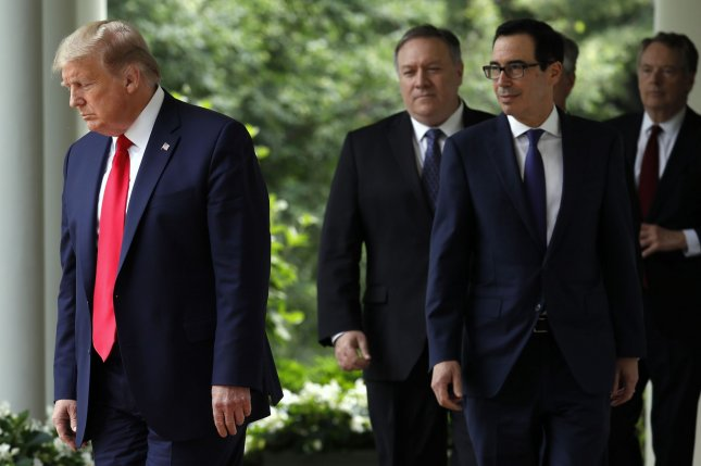 The Trump administration blacklisted three Mexicans, eight companies and two oil tankers on Thursday for aiding Venezuela to evade U.S. sanctions through an oil-for-food scheme. Photo by Yuri Gripas/UPI