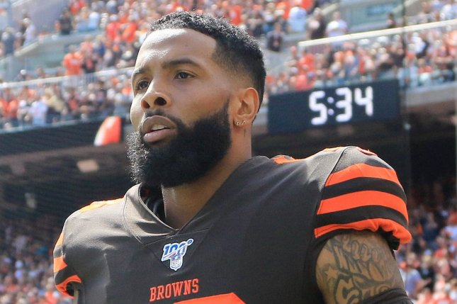 Cleveland Browns wide receiver Odell Beckham Jr. sustained a season-ending knee injury on Oct. 25 and had surgery on Tuesday in Pensacola, Fla. File Photo by Aaron Josefczyk/UPI