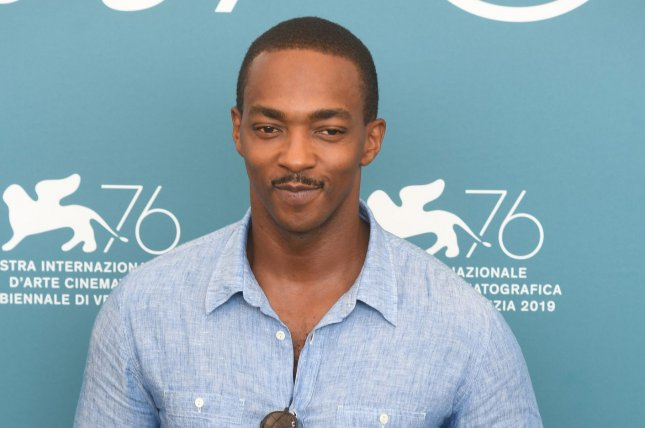 Anthony Mackie stars in the new Amazon Prime Video series Solos. File Photo by Rune Hellestad/UPI