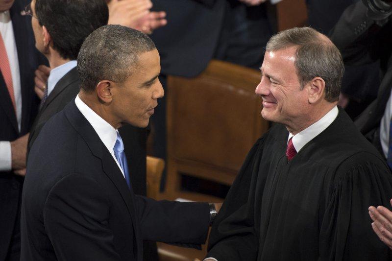 Image result for Obama John Roberts