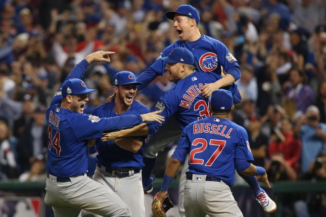 new style 60191 d1c91 Champs at last  Chicago Cubs win first World Series title since 1908