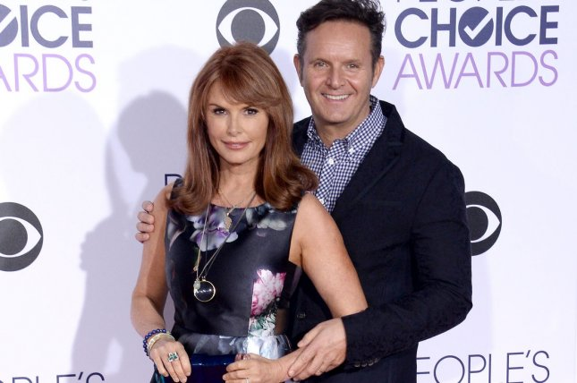 Roma Downey (L) and Mark Burnett are producing the 10-part drama Messiah for Netflix. File Photo by Jim Ruymen/UPI