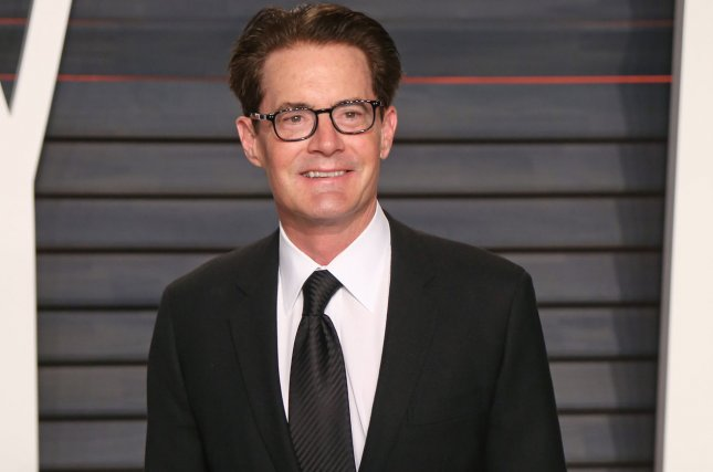 Twin Peaks star Kyle MacLachlan attends the 2016 Vanity Fair Oscar Party in Beverly Hills on February 28, 2016. File Photo by David Silpa/UPI