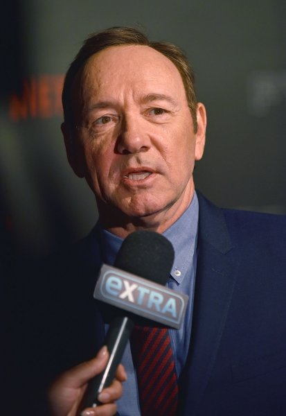 Kevin Spacey responded to accusations that he attempted to seduce Anthony Rapp in 1986, when Rapp was 14. File Photo by Christine Chew/UPI