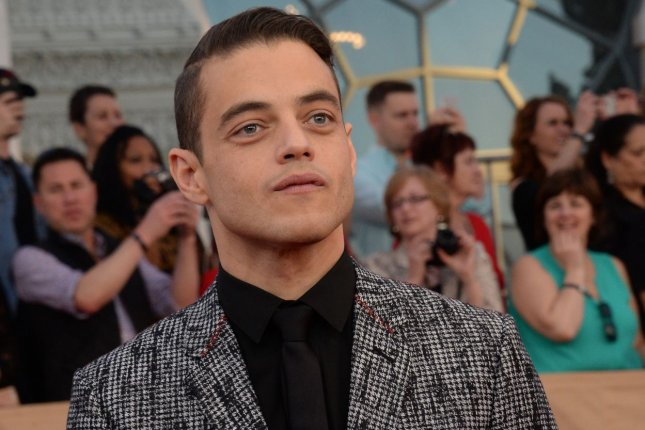 Rami Malek arrives for the the 23rd annual SAG Awards on January 29. Malek is seen striking a pose as Freddie Mercury in a new image shared by director Bryan Singer. File Photo by Jim Ruymen/UPI