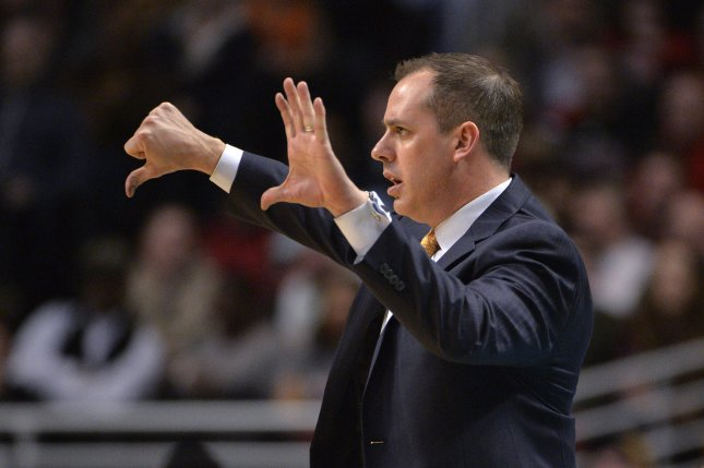 Los Angeles head coach Frank Vogel (pictured) and the Lakers will talk to Golden State Warriors assistant coach Ron Adams about a possible role on Vogel's staff. File Photo by Brian Kersey/UPI