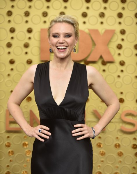 Kate McKinnon brought back her Hillary Clinton impression for this weekend's edition of Saturday Night Live. File Photo by Christine Chew/UPI