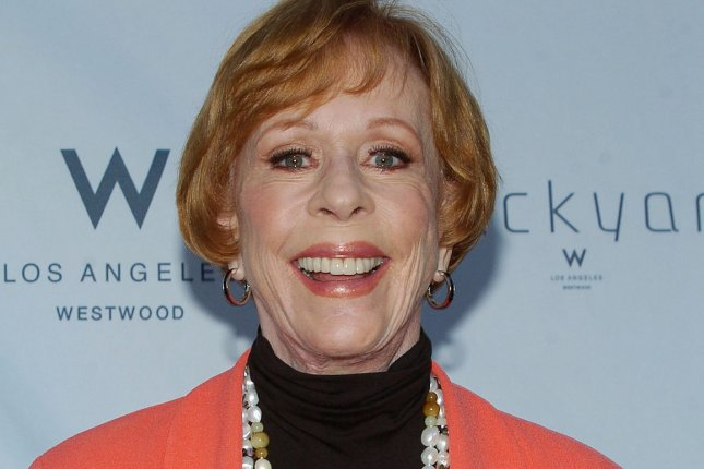 Comic icon Carol Burnett attends a fundraiser at the Geffen Playhouse in Los Angeles on June 4, 2012. Photo by Jacqui Wong/UPI